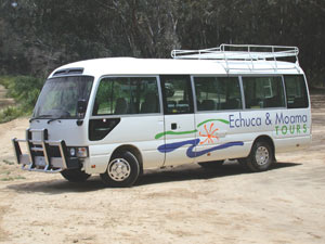 Transport to Echuca and Moama in our comfortable coaches